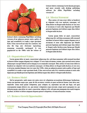 Летние ягоды Словарные шаблоны - Страница 4