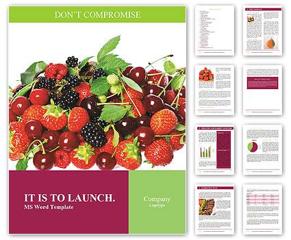 Летние ягоды Словарные шаблоны