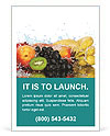 Fruits Set Ad Template