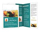 Fruits Set Brochure Templates
