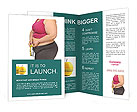 Fat Women On Diet Brochure Templates