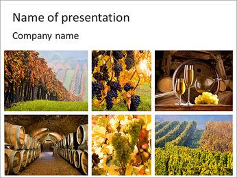Processus de fabrication du vin Modèles des présentations  PowerPoint