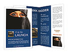 Muslim Woman Brochure Template