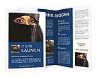 Muslim Woman Brochure Templates