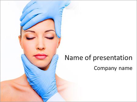 Face plastic surgery powerpoint template backgrounds google face plastic surgery powerpoint template toneelgroepblik Images
