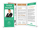 Elegant Businesswoman Brochure Templates
