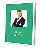 Elegant Businesswoman Presentation Folder