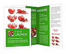 Pomegranate Fruit Brochure Templates