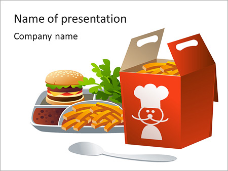 Fast Food Ads Powerpoint Template Backgrounds Google Slides Id