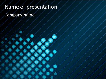 Bleu Couleur-Design Modèles des présentations  PowerPoint
