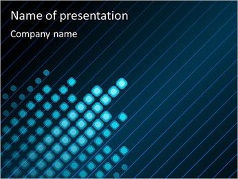 Bleu Couleur-Design Modèles des présentations  PowerPoint - Diapositives 1