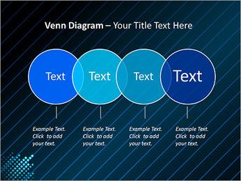 Bleu Couleur-Design Modèles des présentations  PowerPoint - Diapositives 12