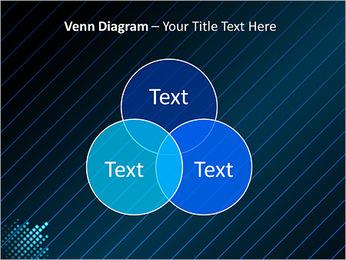 Bleu Couleur-Design Modèles des présentations  PowerPoint - Diapositives 13