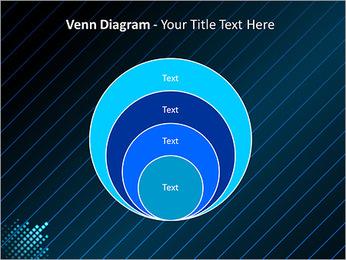 Bleu Couleur-Design Modèles des présentations  PowerPoint - Diapositives 14