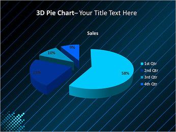 Bleu Couleur-Design Modèles des présentations  PowerPoint - Diapositives 15