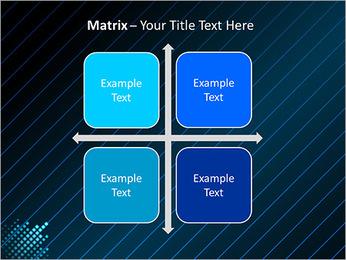 Bleu Couleur-Design Modèles des présentations  PowerPoint - Diapositives 17