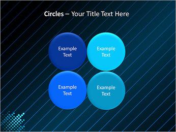Bleu Couleur-Design Modèles des présentations  PowerPoint - Diapositives 18