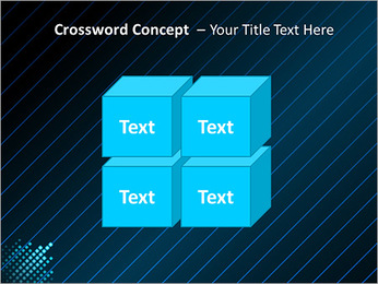 Bleu Couleur-Design Modèles des présentations  PowerPoint - Diapositives 19
