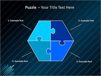 Bleu Couleur-Design Modèles des présentations  PowerPoint - Diapositives 20