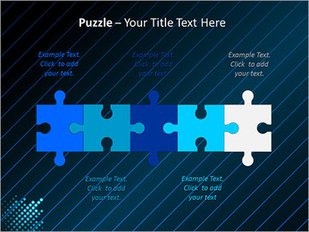 Bleu Couleur-Design Modèles des présentations  PowerPoint - Diapositives 21