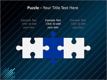 Bleu Couleur-Design Modèles des présentations  PowerPoint - Diapositives 22