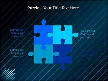 Bleu Couleur-Design Modèles des présentations  PowerPoint - Diapositives 23