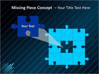 Bleu Couleur-Design Modèles des présentations  PowerPoint - Diapositives 25