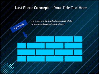 Bleu Couleur-Design Modèles des présentations  PowerPoint - Diapositives 26