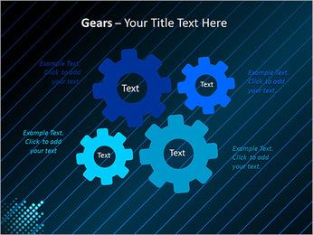 Bleu Couleur-Design Modèles des présentations  PowerPoint - Diapositives 27