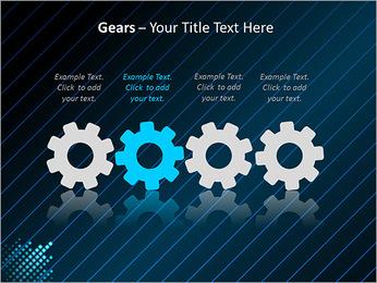Bleu Couleur-Design Modèles des présentations  PowerPoint - Diapositives 28