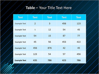 Bleu Couleur-Design Modèles des présentations  PowerPoint - Diapositives 35