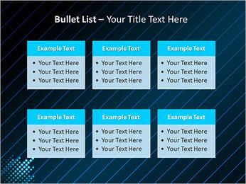 Bleu Couleur-Design Modèles des présentations  PowerPoint - Diapositives 36