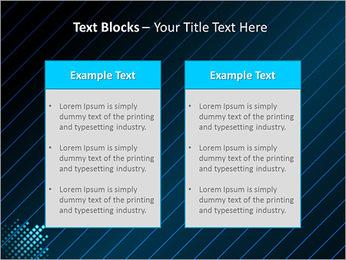 Bleu Couleur-Design Modèles des présentations  PowerPoint - Diapositives 37