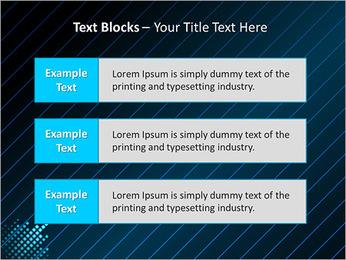 Bleu Couleur-Design Modèles des présentations  PowerPoint - Diapositives 38