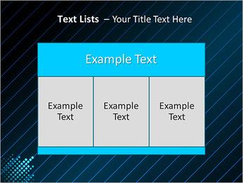 Bleu Couleur-Design Modèles des présentations  PowerPoint - Diapositives 39