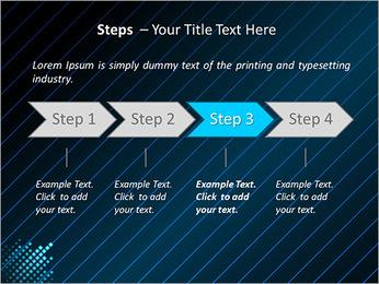 Bleu Couleur-Design Modèles des présentations  PowerPoint - Diapositives 4