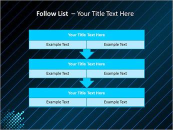 Bleu Couleur-Design Modèles des présentations  PowerPoint - Diapositives 40