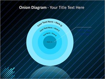 Bleu Couleur-Design Modèles des présentations  PowerPoint - Diapositives 41