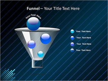 Bleu Couleur-Design Modèles des présentations  PowerPoint - Diapositives 43