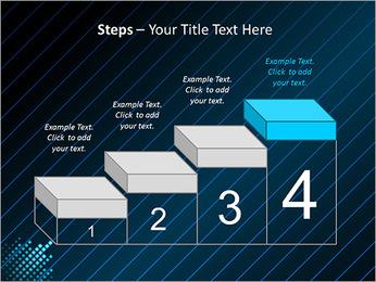 Bleu Couleur-Design Modèles des présentations  PowerPoint - Diapositives 44
