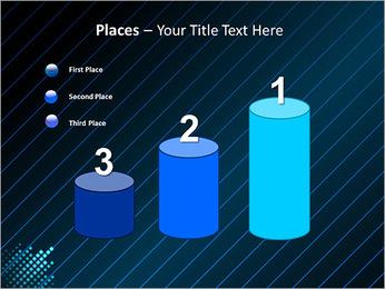 Bleu Couleur-Design Modèles des présentations  PowerPoint - Diapositives 45
