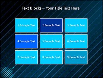 Bleu Couleur-Design Modèles des présentations  PowerPoint - Diapositives 48