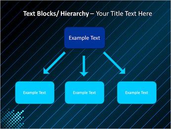 Bleu Couleur-Design Modèles des présentations  PowerPoint - Diapositives 49