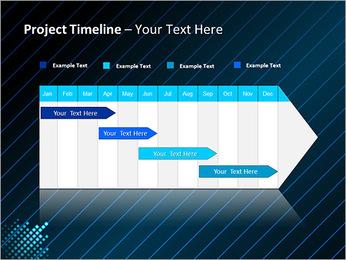 Bleu Couleur-Design Modèles des présentations  PowerPoint - Diapositives 5