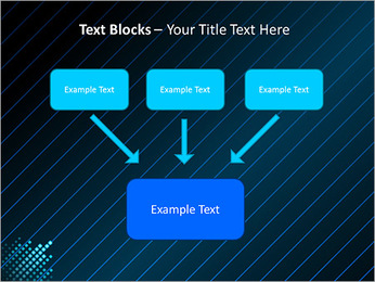 Bleu Couleur-Design Modèles des présentations  PowerPoint - Diapositives 50