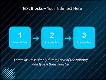 Bleu Couleur-Design Modèles des présentations  PowerPoint - Diapositives 51