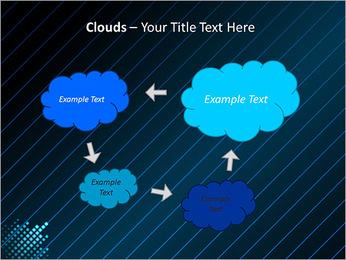 Bleu Couleur-Design Modèles des présentations  PowerPoint - Diapositives 52