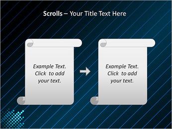 Bleu Couleur-Design Modèles des présentations  PowerPoint - Diapositives 54