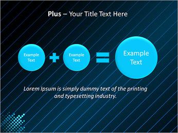 Bleu Couleur-Design Modèles des présentations  PowerPoint - Diapositives 55