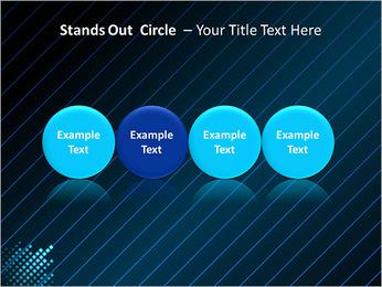 Bleu Couleur-Design Modèles des présentations  PowerPoint - Diapositives 56